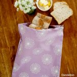Dandelion Purple Bread Bag