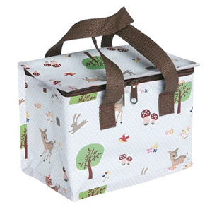 Re-cycled foil lined Lunch Bag Woodland