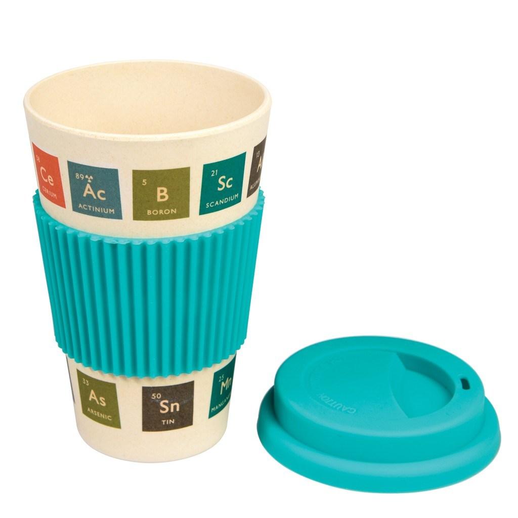 Periodic table bamboo travel mug eco snack wrap periodic table bamboo travel mug urtaz Images